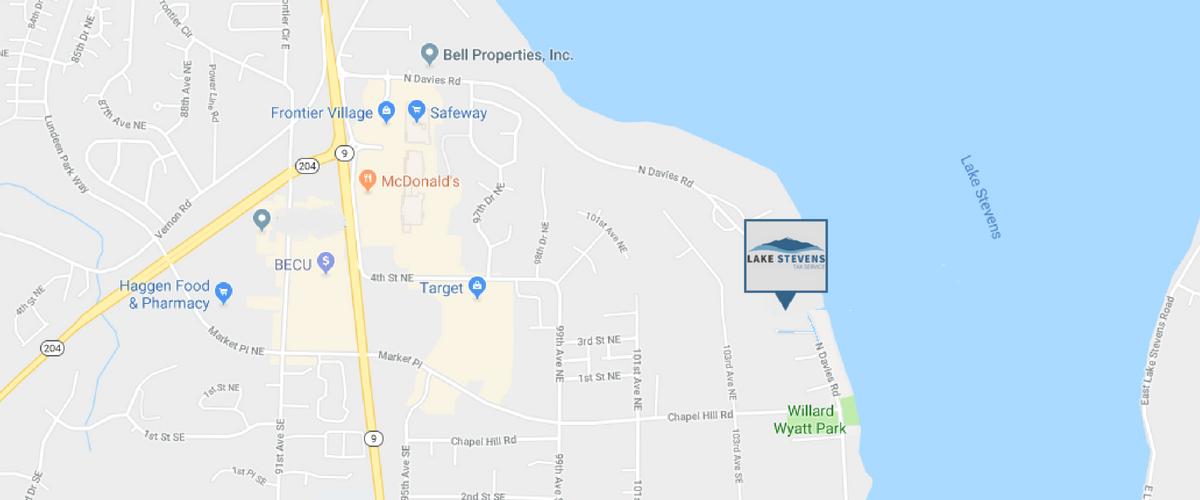 Office Map | Lake Stevens Tax Service