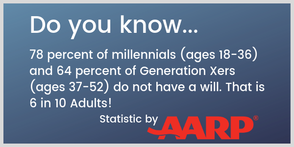 Estate Planning Statistics by AARP | Lake Stevens Tax Service