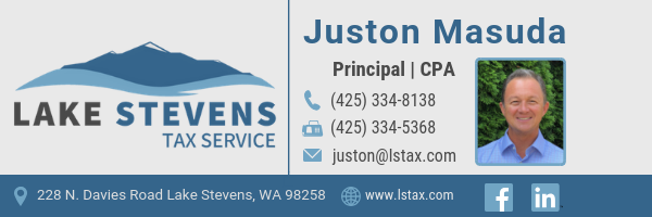 Juston Masuda, CPA | Lake Stevens Tax Service