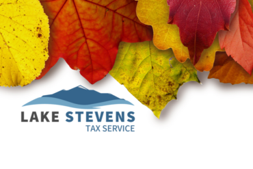 Fall Client Newsletter | Lake Stevens Tax Service