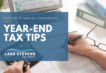 Year-End Tax Tips 2019 | Lake Stevens Tax Service
